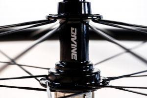 Carbon Road Bike Wheel Detail Hub   Divine Cycling