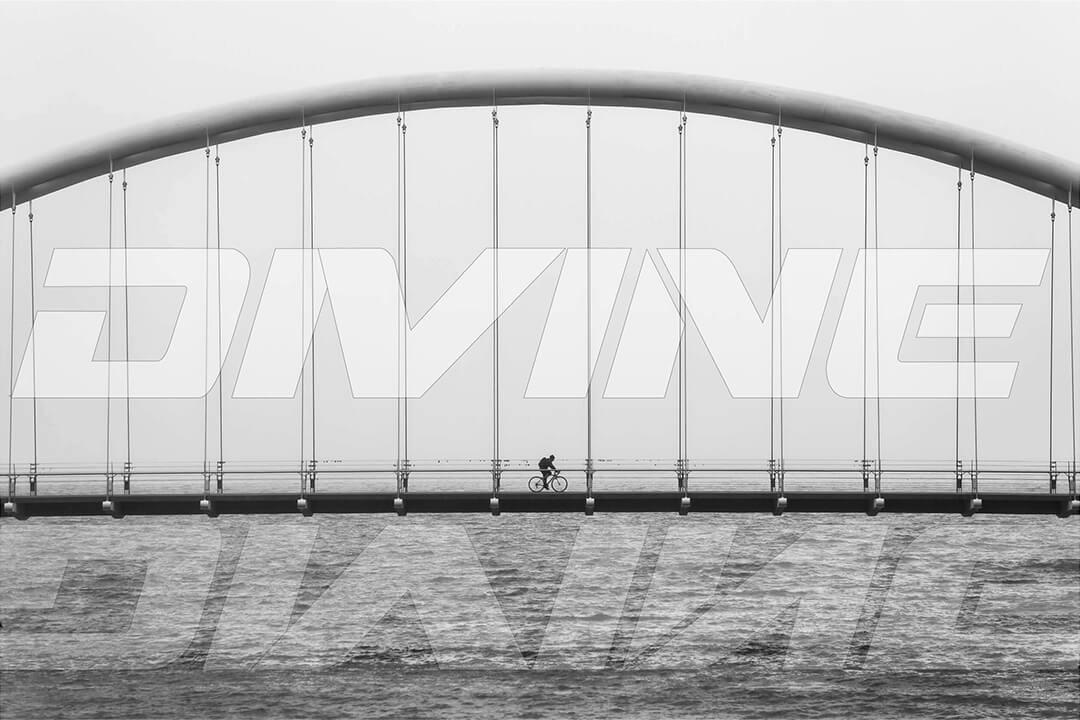 Bridge Lifestyle Picture With Logo Banner Image | Divine Cycling