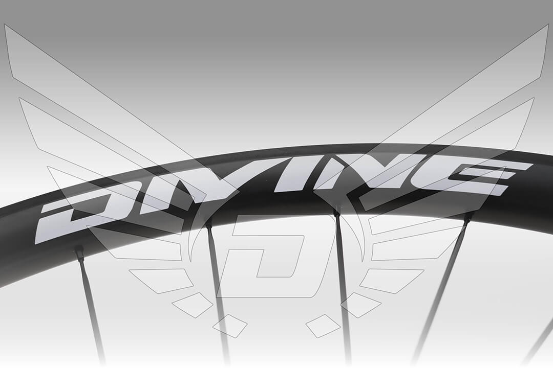 Carbon Road Bike Wheel Detail Banner Image | Divine Cycling