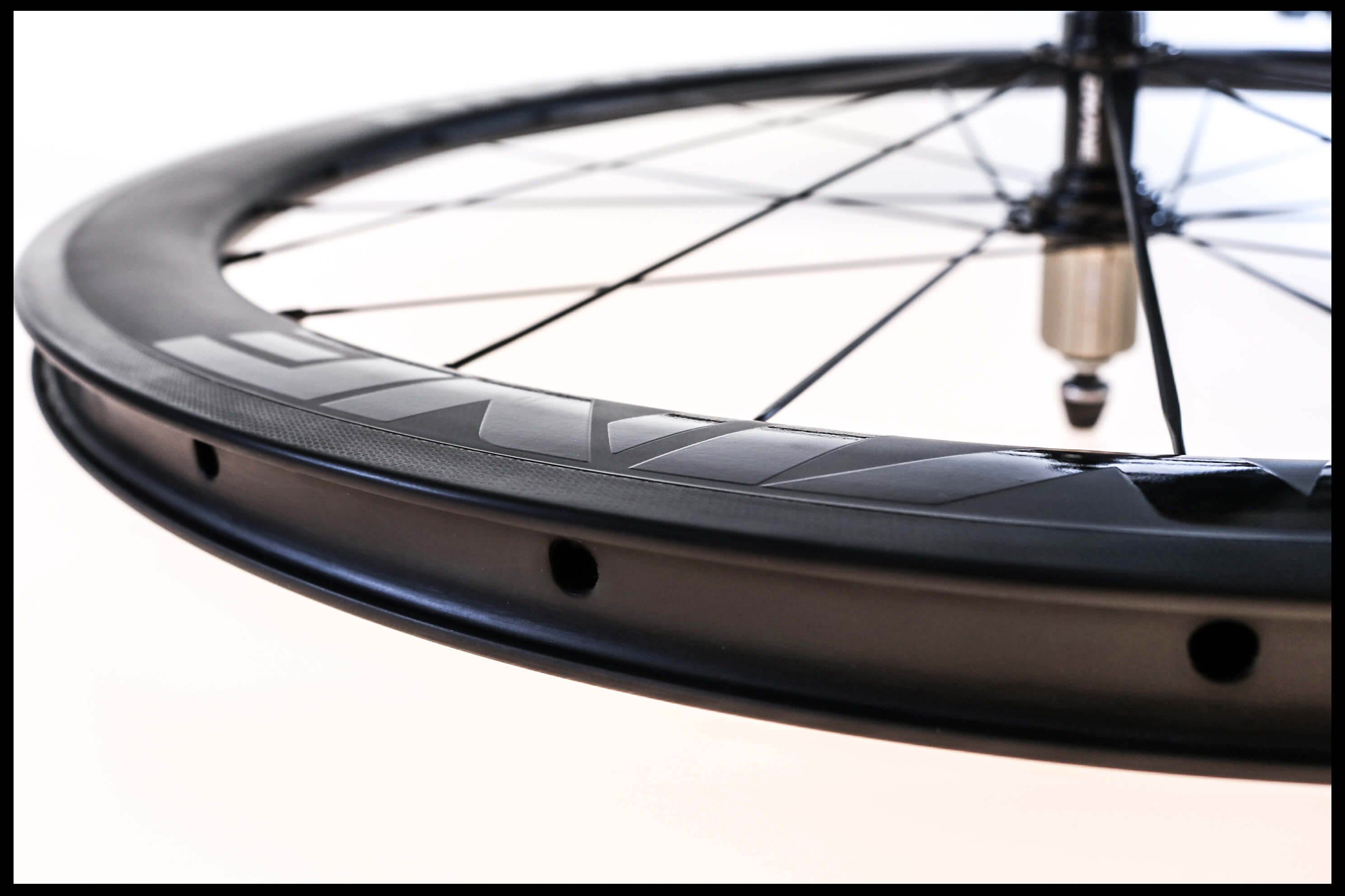 Carbon Road Bike Wheel Close-up Rim | Divine Cycling
