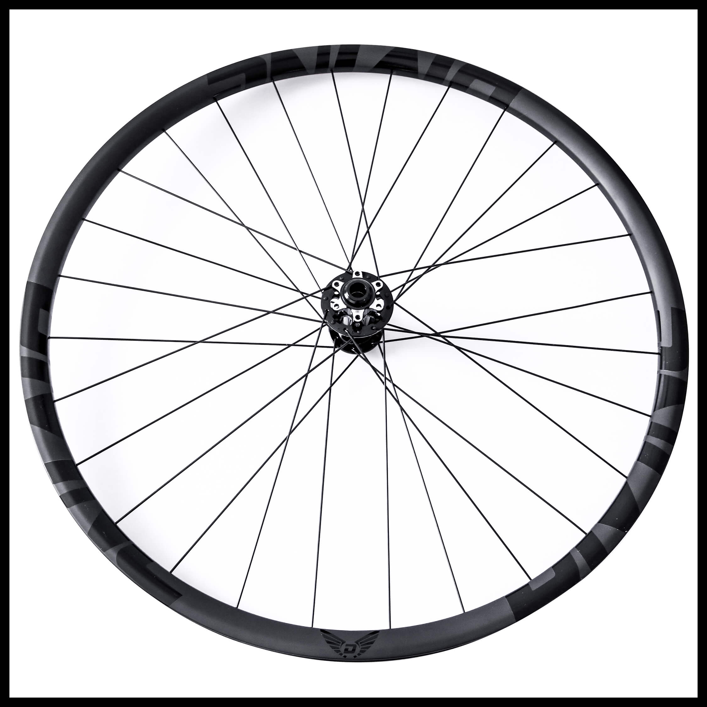 Carbon Mountain Bike Wheels Black Logo | Divine Cycling
